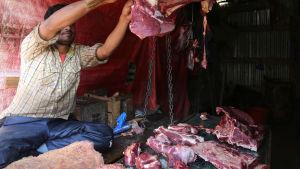 Indien vill allt mer förbjuda kötkött