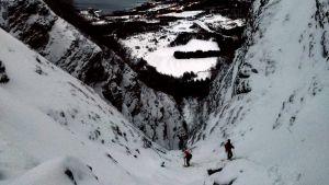 Isklättring i Nordnorge