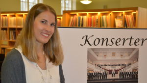 Florakörens infosekreterare Sonja Rosenqvist