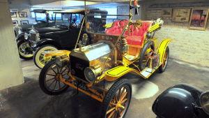 En Ford Roadster från år 1910.