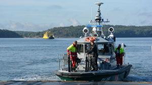 Sjöbevakningens båt