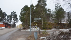 Björn Siggbergs tomt för ett statdshus i Karis.