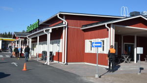 Invigning av ABC Pickala i Sjundeå.