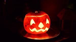 Halloween-juhlan kurpitsalyhty