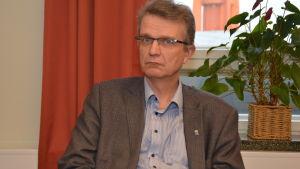 Jukka Takala är teknisk chef i Hangö.