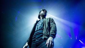Vokalisten M. Shadows från bandet Avenged Sevenfold