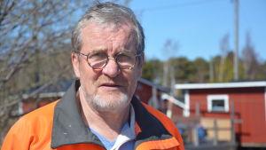 Sten Öhman har varit både politiker och teknisk direktör i Hangö.
