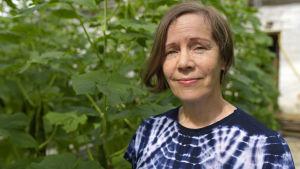 Irene Vänninen, projektledare för projektet Inno-Växthus