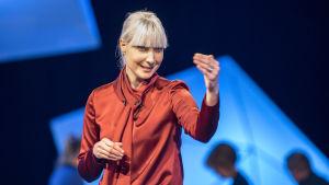 Laura Huhtasaari, vaalipuhe, Presidenttipäivät Yle TV1, presidenttitentti, presidentinvaalit 2018