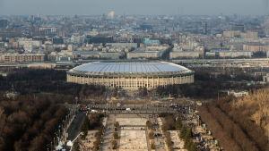 Luzhnikistadion i Moskva, finalarena vid VM i fotboll 2018.