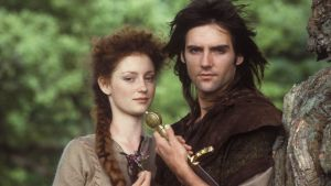 Robin och Marion i tv-serien Robin of Sherwood.