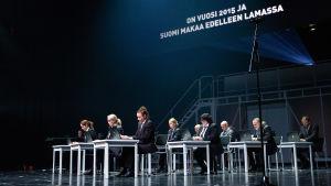 Suomen Kansallisteatterin Yhdestoista hetki näytelmä