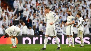 Real Madrid-spelare deppar