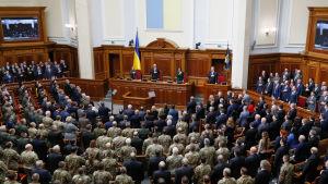 Det ukrainsaka parlamentet.