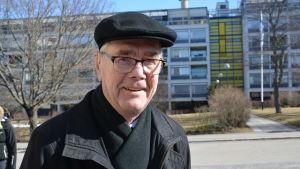 Erik Burman har röstat i riksdagsvalet.