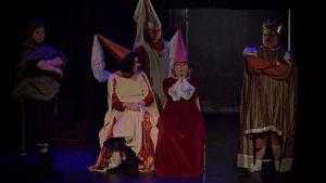 Lady Marion som spelas av Janina Egger i musikalen Robin Hood.