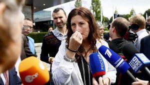 Silene Fredriksz vars son och svärdotter var ombord på planet och omkom, är nöjd med åtalen fem år efter nedskjutningen