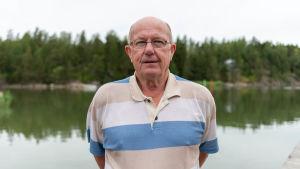 Anders Holmberg, byarådets ordförande i Barösund.