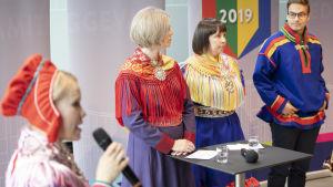 saamelaiskäräjien vaalitentti alkamassa