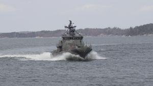 Robotbåten Naantali i Rauma-klassen.