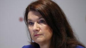 Ann Linde, utrikeshandelsminister och minister med ansvar för nordiska frågor, i juni 2019.