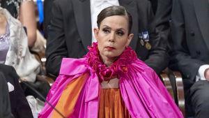Sara Danius på Nobelgalan.