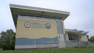 Utomhusbadet i Wilmington, Delaware, som döptes om efter Joe Biden år 2017.