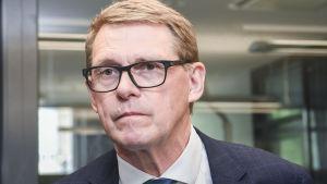 Valtiovarainministeri Matti Vanhanen.