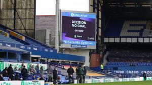 Liverpools 3–2-mål videogranskades och godkändes inte.