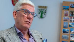 Mats Enberg  är handläggningscenterchef på Folkpensionsanstalten.