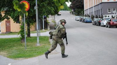 Siste ryske soldaten ut ur vilnius