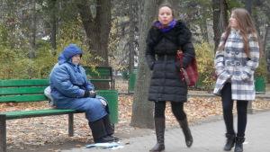 kvinna i moldavien