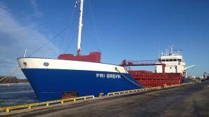 Fraktfartyget Fri Brevik