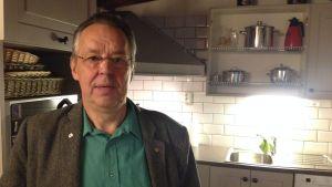 Göran Fagerstedt från Karis musei- och hembygdsförening.