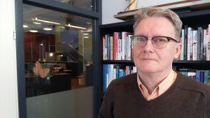 Frank Johansson, verksamhetsledare för Amnesty Finland.
