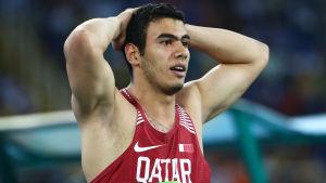 Ahmed Bader Magour deltog i Rio-OS för Qatar.