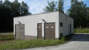 Alheda avloppsreningsverks huvudpumpstation i Jakobstad
