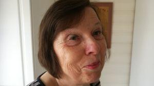 Ulrica Sandqvist är antropologen Hilma Granqvists brorsdotter. Här i Sjundeå våren 2017.