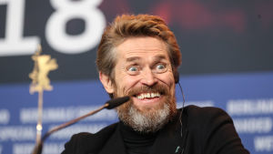 Willem Dafoe under Berlinale-festivalen 2018.