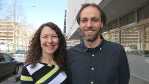 Ann-Sofi Backgren och Kenneth Nordberg.