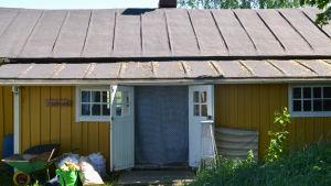 Konstnärsresidenset Lindnäs på Postbacken.
