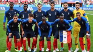 Frankrikes startelva