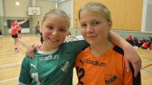 Bianca Ruohomaa och Julia Syrén, Grankulla IFK