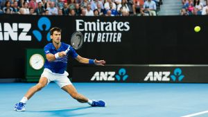 Novak Djokovic finalklar i Australian Open.