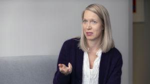 Yhdenvertaisuusvaltuutetun toimiston Ylitarkastaja Venla Roth.
