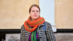 Sångaren Charlotta Kerbs.