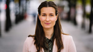 Porträtt på Elna Nykänen-Andersson.