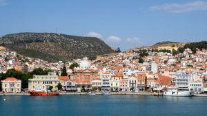 Mytilene på Lesbos