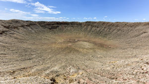 Meteoritkratern i Arizona