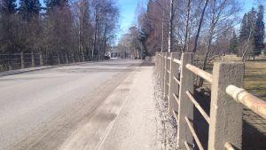 Järnvägsbron i Kristinestad